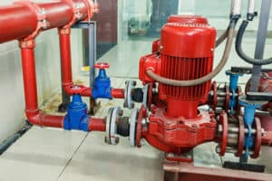 Antifreeze Sprinkler System